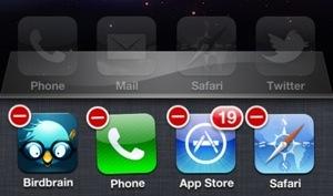 Multitasking iPhone